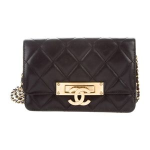 Chanel Golden Class Wallet on Chain
